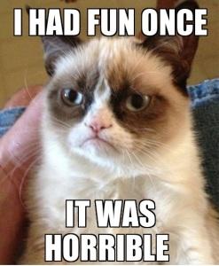 Yep, it was horrible.