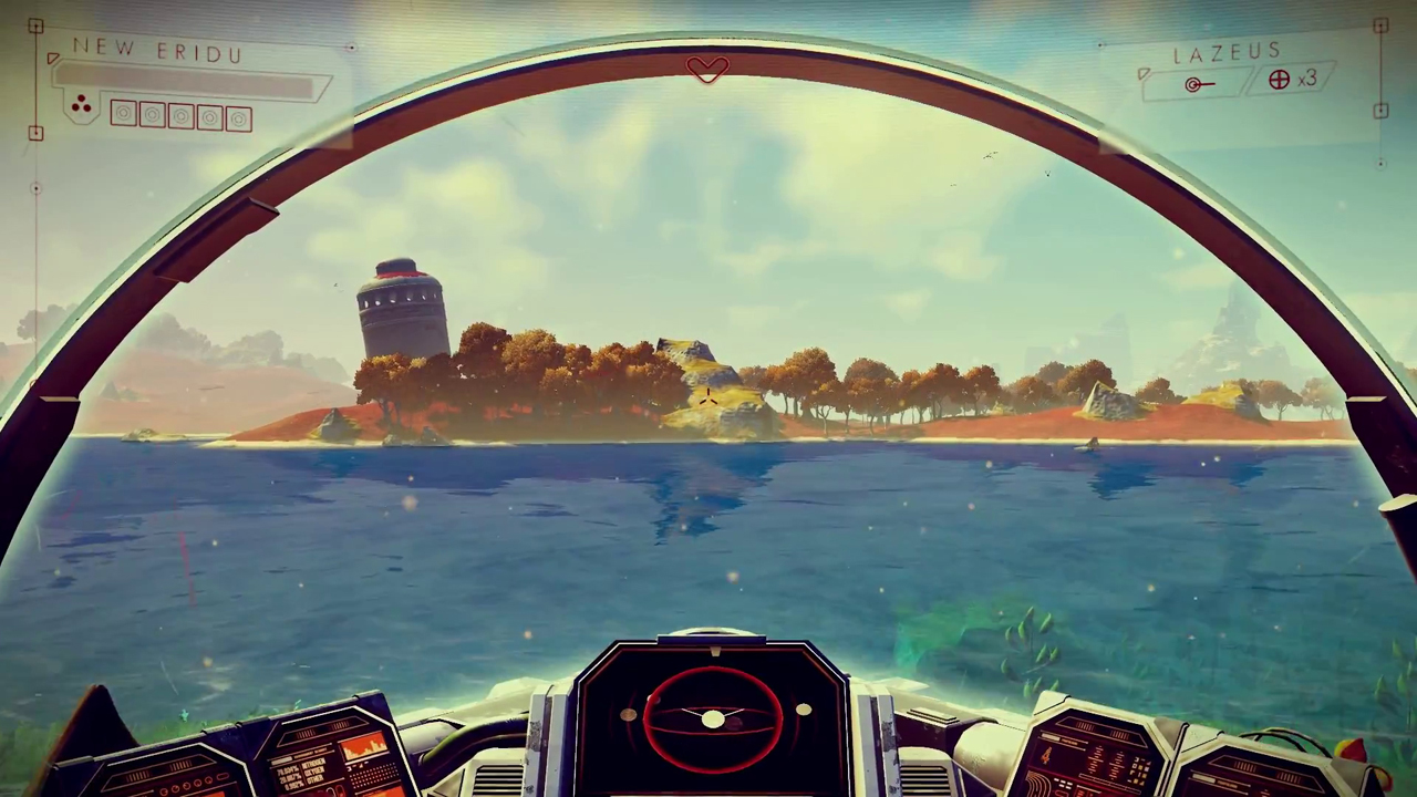 This is just ONE of the gazillion planets you'll get to explore.