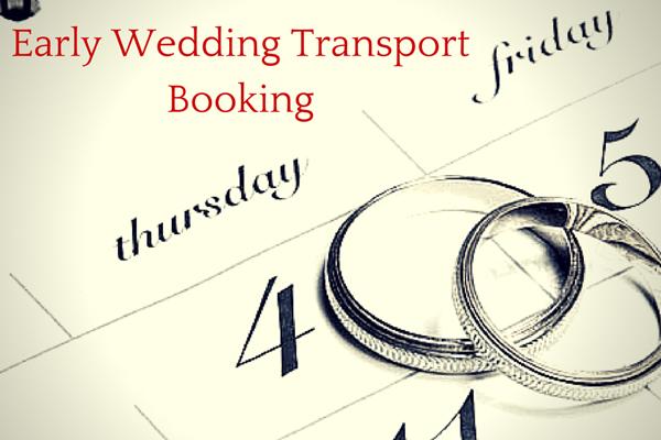 Wedding Transport Booking