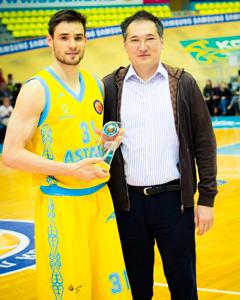 Anatoly Kolesnikov. Photo from VTB League.