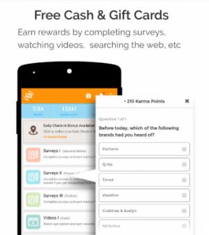 cashKarma Rewards & Gift Cards